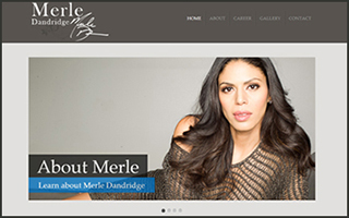 Merle Dandridge Official Website